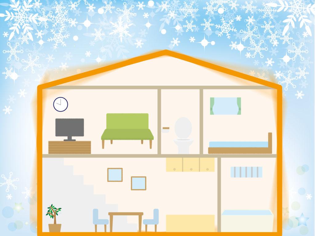 金沢の高断熱住宅の仕組み
