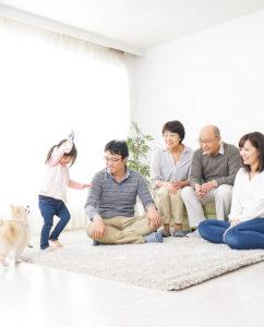 金沢の二世帯住宅