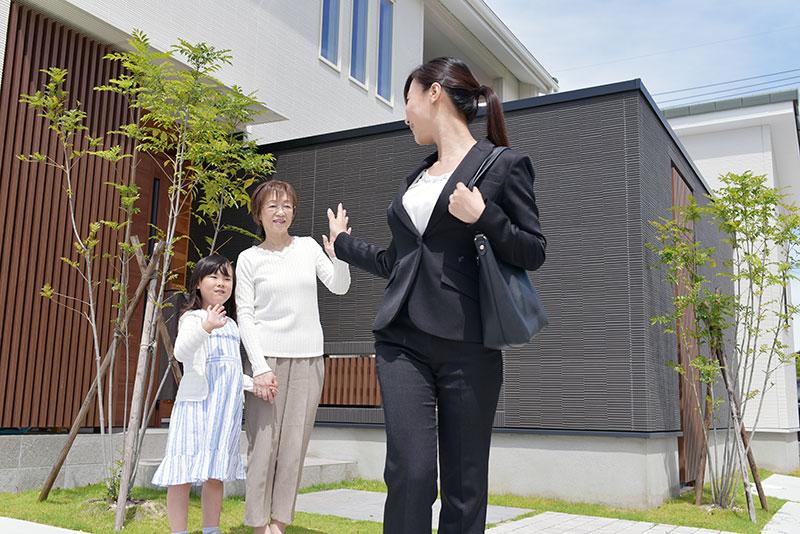 金沢の二世帯住宅の出勤風健