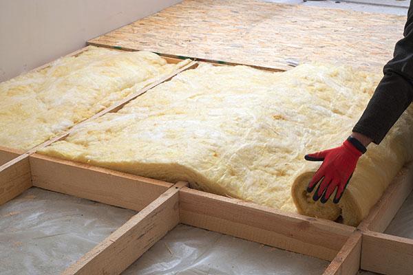 金沢の床の断熱リフォーム