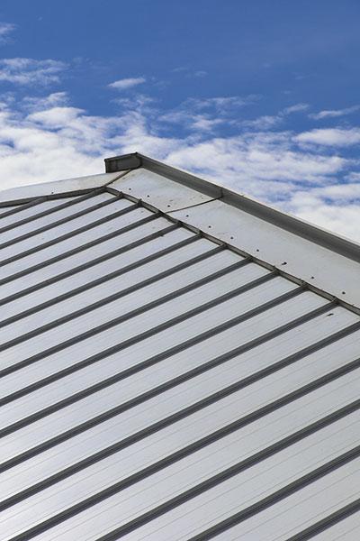 金沢の自由設計の家の屋根
